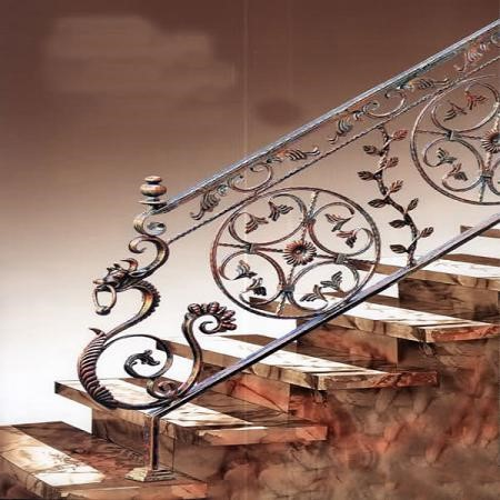 -انواع مختلف نرده پله فرفوژه کدام هستند؟